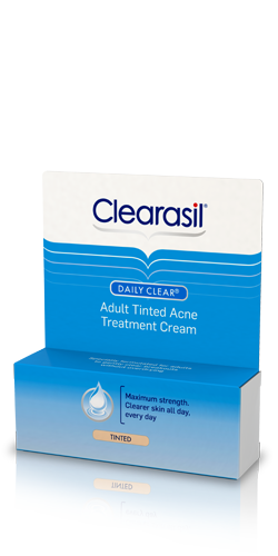 Daily Clear® Adult Tinted Treatment Cream