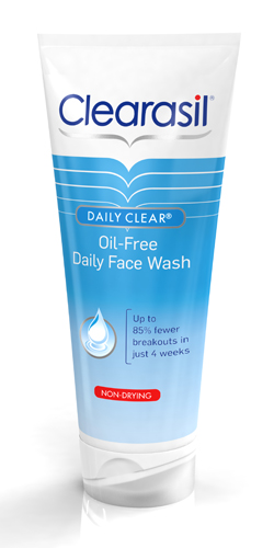 Daily Clear® Oil-Free Daily Face Wash